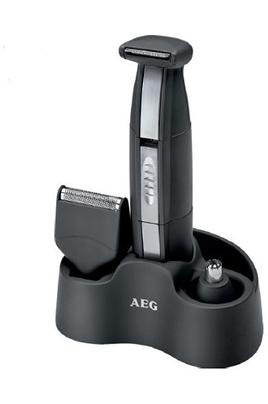 Tondeuse 3 en 1 : barbe, nez/oreilles Fonctionne sur piles (non fournies) Poignée ergonomique - Têtes détachables Inclus : brosse de nettoyage