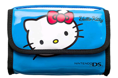 Accessoires 3DS/3DSXL Bigben SACOCHE HELLO KITTY BLEUE