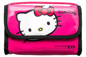 Accessoires 3DS/3DSXL SACOCHE HELLO KITTY ROSE Bigben
