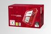 Consoles 2DS NINTENDO 2DS ROUGE TRANPARENT + STYLET + CARTE SD 4 GO + 6 CARTES RA+ ALIMENTATION Nintendo