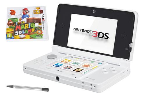 Nintendo 3DS BLANCHE + SUPER MARIO 3D LAND (3548570)