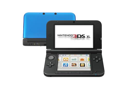 Nintendo 3DS XL BLEU + NOIR
