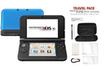 Nintendo 3DS XL BLEUE NOIRE + POCHETTE photo 1