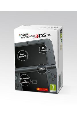 Console New Nintendo 3DS XL Noire Métallique