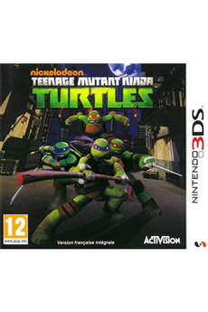 Jeux 3DS / 2DS TEENAGE MUTANT NINJA TURTLE VF Activision