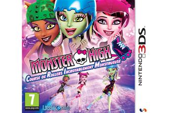 Jeux 3DS / 2DS Monster High : Course de rollers incroyablement monstrueuse Bandai