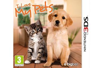 Jeux 3DS / 2DS I LOVE MY PETS Bigben