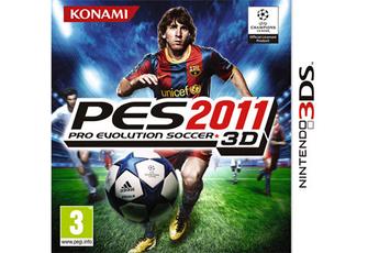 Jeux 3DS / 2DS PES 2011 3D Konami