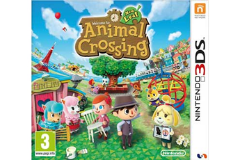 Jeux 3DS / 2DS ANIMAL CROSSING : NEW LEAF Nintendo