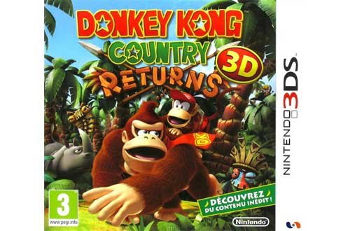 Jeux 3DS / 2DS Nintendo DONKEY KONG COUNTRY RETURNS (1380605)