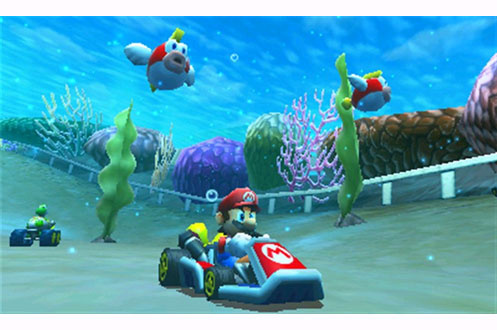 jeux 3ds 2ds nintendo mario kart 7 1316184 darty. Black Bedroom Furniture Sets. Home Design Ideas
