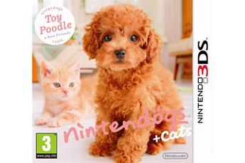Jeu Nintendo 3DS - Nintendogs + cats caniche toy & ses nouveaux amis