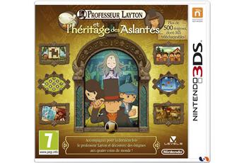 Jeux 3DS / 2DS PROFESSEUR LAYTON ET L'HERITAGE DES ASLANTES Nintendo