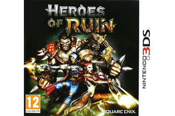 Jeux 3DS / 2DS HEROES OF RUIN 3DS Square Enix