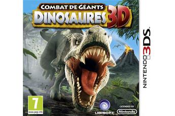 Jeux 3DS / 2DS COMBAT DE GÉANTS : DINOSAURES 3D Ubisoft