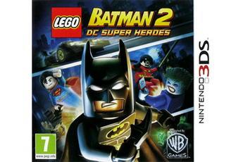 Jeux 3DS / 2DS LEGO BATMAN 2 : DC SUPER HEROES Warner