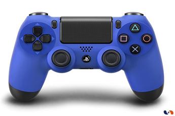 Accessoires PS4 Manette sans fil DualShock 4 bleue Sony