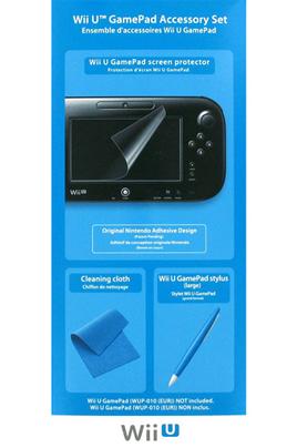 Accessoires Wii U KIT D'ACCESSOIRES WII U GAMEPAD Nintendo