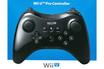 Nintendo WII U MANETTE CLASSIQUE PRO NOIR photo 1