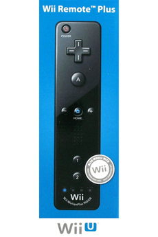 Accessoires Wii U WII U REMOTE PLUS NOIRE Nintendo