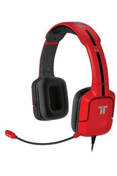 Casque micro / gamer Kunai Stéréo Headset pour Wii U / 3DS Rouge Tritton