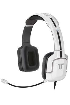 Casque micro / gamer Kunai Stéréo Headset pour Wii U / 3DS Blanc Tritton