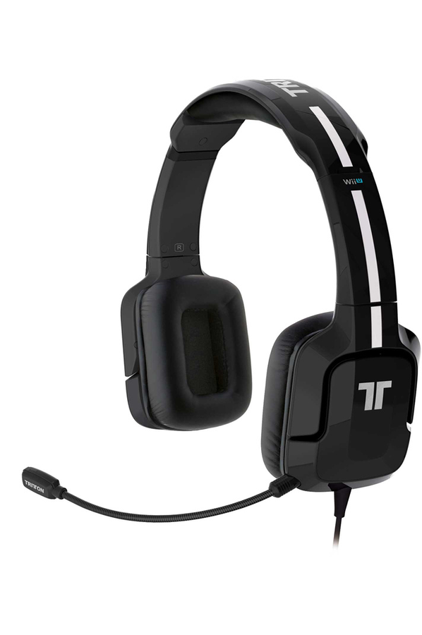 casque micro gamer tritton kunai st r o headset pour wii u 3ds noir 1386190 darty. Black Bedroom Furniture Sets. Home Design Ideas