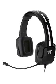 Casque micro / gamer Kunai Stéréo Headset pour Wii U / 3DS Noir Tritton