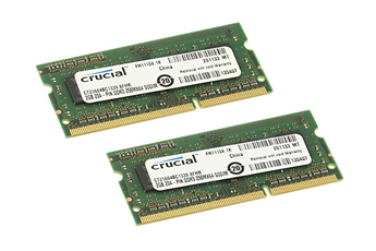 Barrette mémoire CT2KIT 2X2GB 1333 Crucial