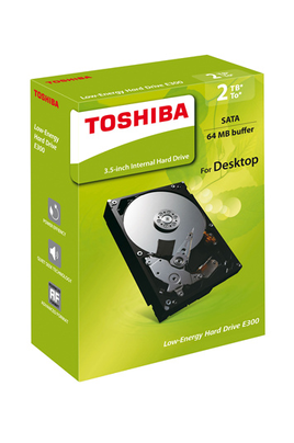 Disque dur interne HDD RETAIL KIT 3.5 Toshiba