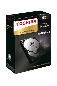 Disque dur interne DDIN 3.5'' X300 4To Toshiba
