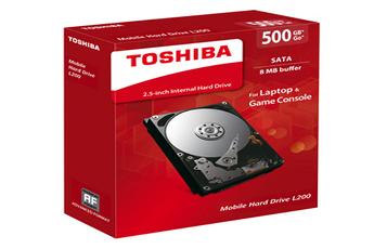 Disque dur interne DDIN 2.5' L200 500GB Toshiba