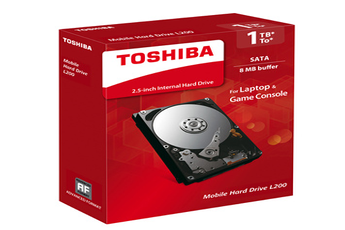 Darty - Disque dur interne toshiba disque dur interne 2.5   l200 1tb