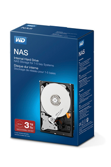 Disque dur interne DDIN RED NAS 3TB Wd