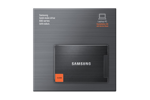 "830 2,5"" 512 Go SATA III LAPTOP KIT Samsung"