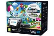 Nintendo Wii U Premium Noire 32Go + Mario & Luigi
