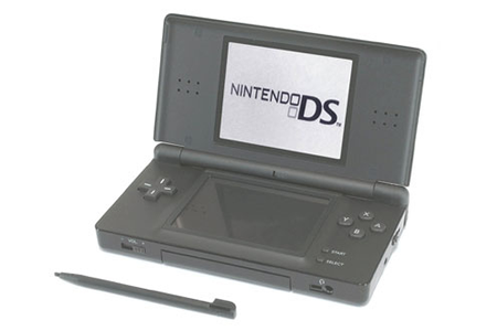consoles ds dsi nintendo ds lite noire dslite 2317958 darty. Black Bedroom Furniture Sets. Home Design Ideas