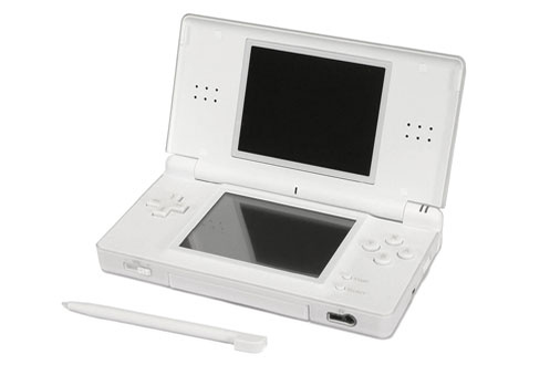 consoles ds dsi nintendo ds lite blanche dslite 2317940 darty. Black Bedroom Furniture Sets. Home Design Ideas