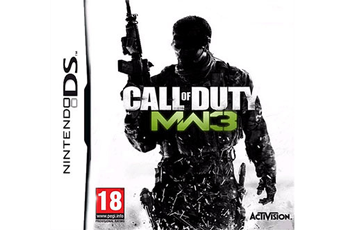 Jeux DS / DSI C.O.D.8 WARFARE 3 Activision