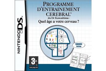 Jeux DS / DSI BRAIN TRAINING Nintendo