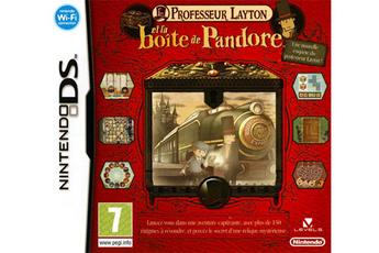 Jeux DS / DSI PR LAYTON PANDORE Nintendo