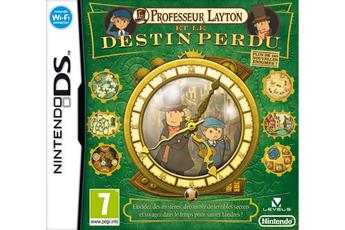 Jeux DS / DSI PROFESSEUR LAYTON ET LE DESTIN PERDU Nintendo