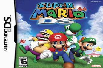 Jeu Nintendo DS - Super Mario 64 ds