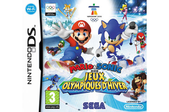 Jeux DS / DSI MARIO&SONIC JO HIVER Sega