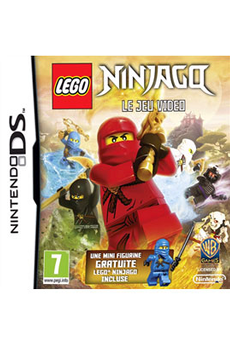 Jeux DS / DSI LEGO NINJAGO+FIGURINE Warner
