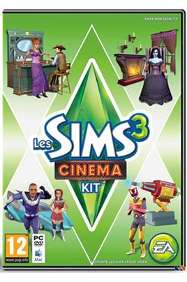 Electronic Arts LES SIMS 3 : CINEMA - KIT D'OBJETS PC