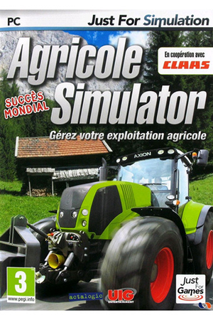 jeux pc et mac just for games farm sim agricole simulator darty. Black Bedroom Furniture Sets. Home Design Ideas