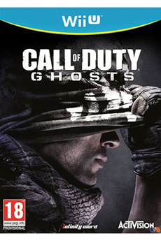 Jeux Wii U CALL OF DUTY : GHOSTS Activision