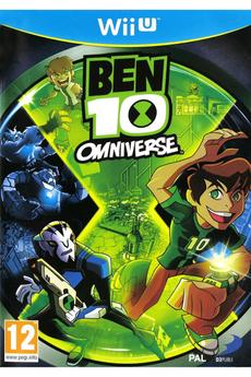 Jeux Wii U BEN10 OMNIVERSE Bandai