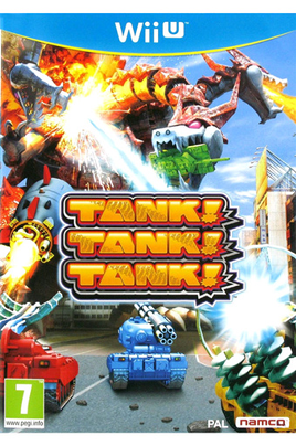 Jeux Wii U TANK! TANK! TANK! Bandai